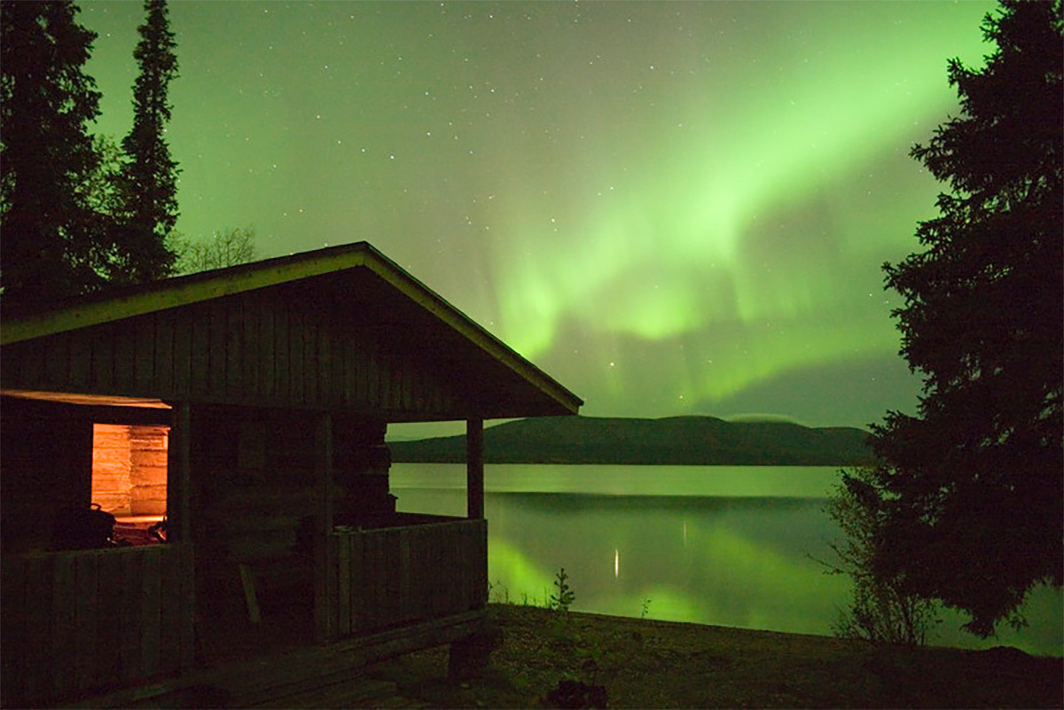 Northern lighst Utsjoki Finland