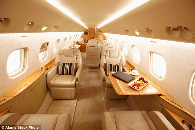 MailOnline has researched how much it costs to hire a private plane to the top stag and hen do destinations