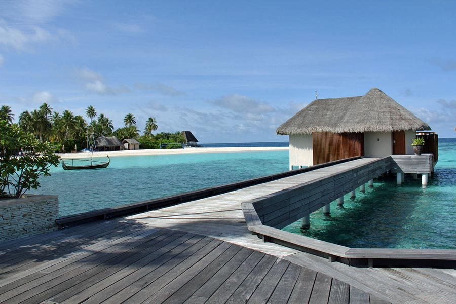 Luxury in the Maldives © Qim Mohd Ali - Flickr Creative Commons