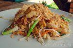 Подтай блюдо – простой пошаговый рецепт тайской лапши